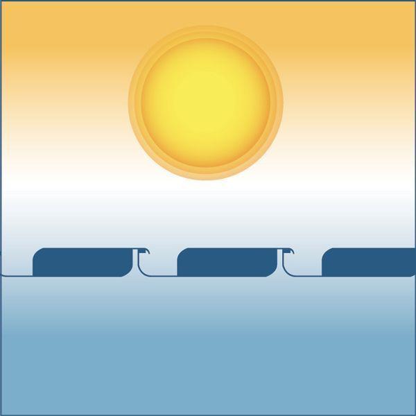 Protection solaire de la pergola bioclimatique h3 titan à lames orientables